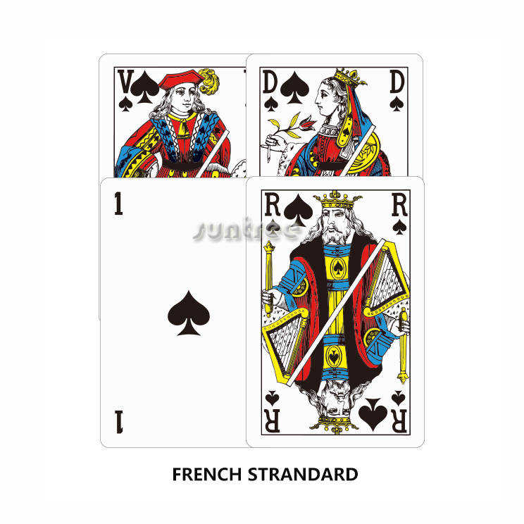 Vintage French Playing Cards